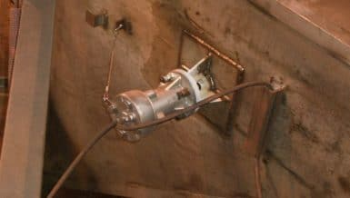 EXEN Air Knocker Solves Material Flow Problems