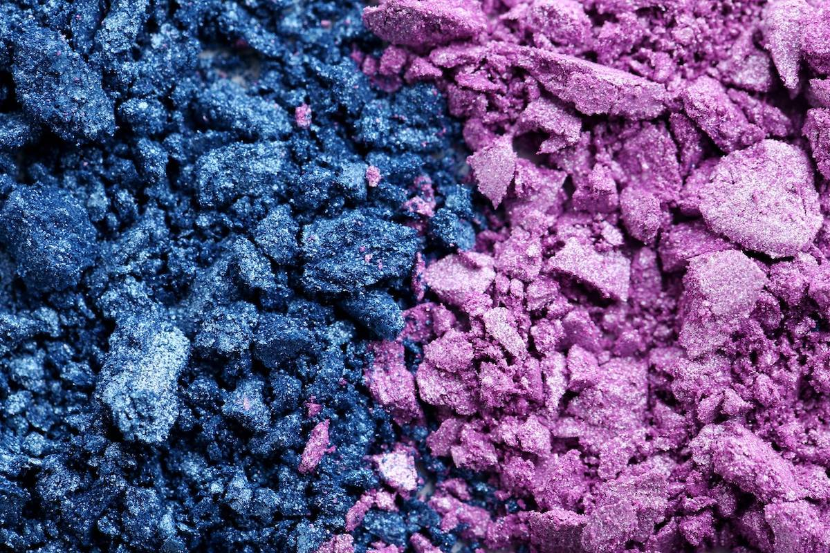 Cosmetics manufacturing processing industry - cosmetic powders