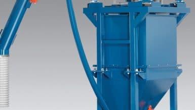 Sizing-Dispensing System For Bulk Abrasives