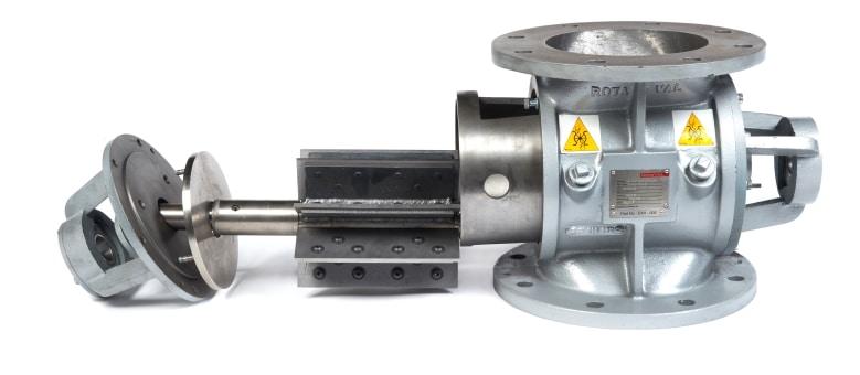 Gericke RotaVal EHDM Rotary Valve Designed For Abrasive Powders