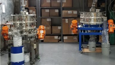 Hi-Sifter Screener Capable of Making Fine Powder for the Battery Materials Market
