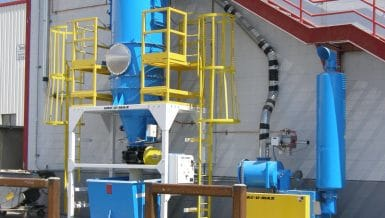 Continuous Dust Control with Central Vacuum Cleaning Systems