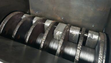 Custom Configured Hammer Mill Style Crushers for Bulky, Abrasive Materials