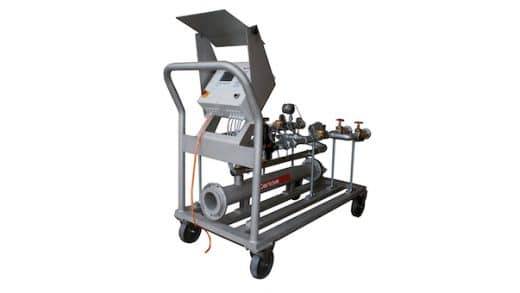 Mobile Pneumatic Conveying Control System Automatically Empties Tankers, Trailers, Railcars
