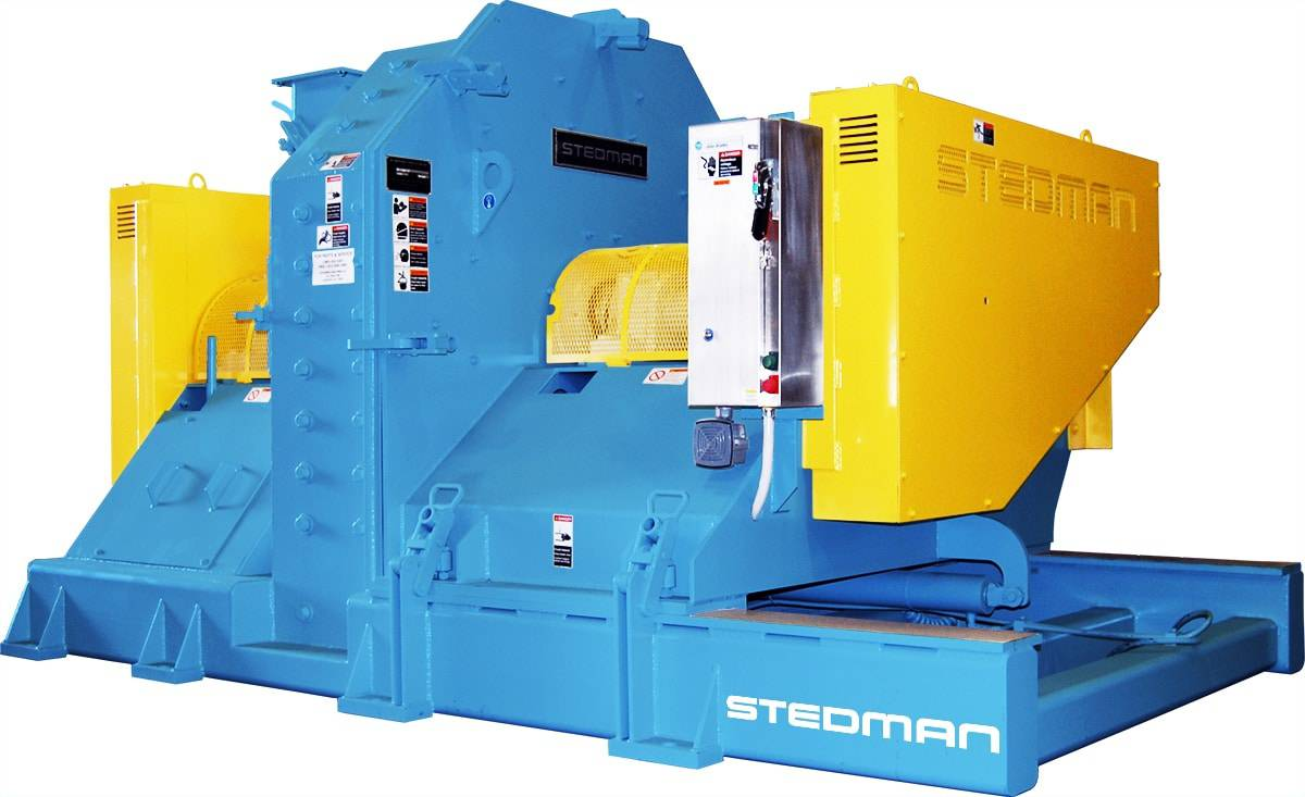 New Stedman Machine Company Heavy Duty 6-Row Cage Mill