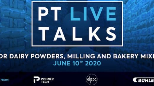 You're invited to Premier Tech first web conference dedicated to Dairy Powder, Milling and Bakery Mixes on June 10th