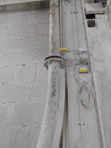 Continuous mass flow measurement of limestone with SolidFlow 2.0 – Application