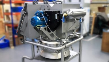 Innovative Localised Dust Extraction System for Sack Tip Station