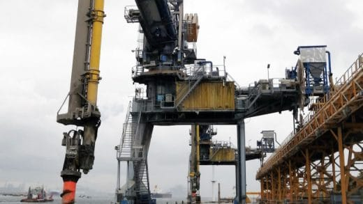 Three New Siwertell Ship Unloaders Extend Singapore's Environment-Friendly Cement Handling