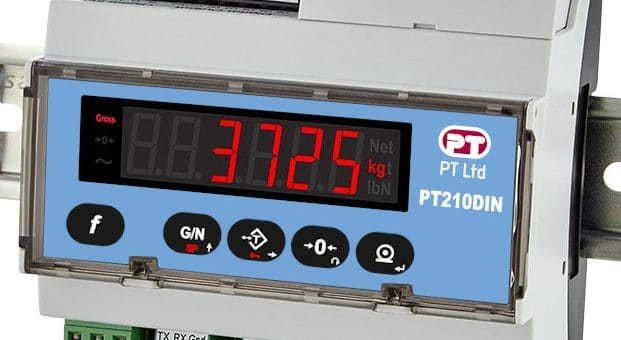 Smart indicator PT210 for Industrial Weighing Process Applications