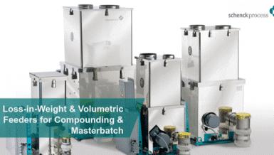 Schenck Process Space Saving, Low-Maintenance Feeders