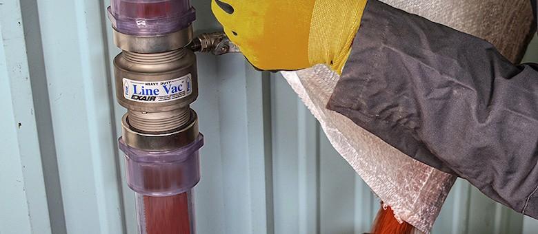 Wear Resistant Pneumatic Conveyor Provides High Throughput
