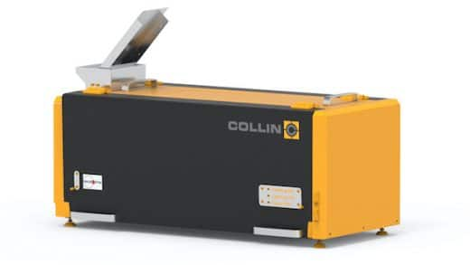 COLLIN product innovation: Fully-automatic all in one test system for granulates & powder:
