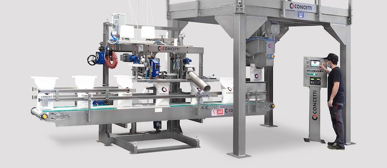 Speed and Safety for the Operator: Concetti Presents a new Semi-Automatic Filling and Closing Line