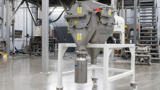 High-Efficiency Sifting With The Kek Centrifugal Sifter