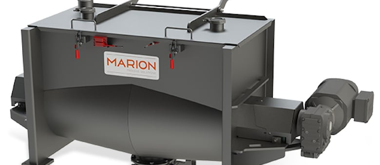 Marion Process Solutions Introduces the Momentum Series Blenders and Mixers