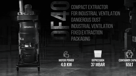 Compact Extractor for Industrial Ventilation
