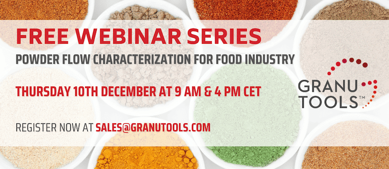 Powder Flow Characterization For Food Industry