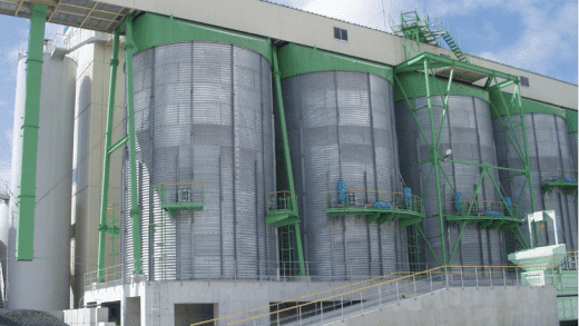 EXEN Air Blaster Helps to Solve Sand Flow Problem at Ready Mixed Concrete Factory
