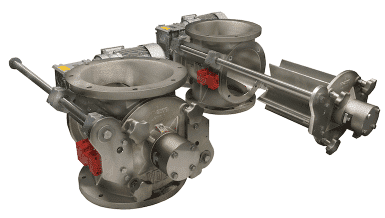 """New Quickly Cleanable Rotary Valve """"Easy Clean"""""""