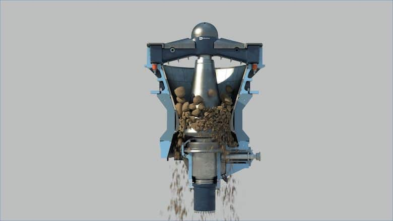 FLSmidth's new Digital-Enabled TSUV Gyratory Crusher Delivers Safety and Productivity Benefits