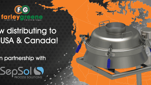 Farleygreene Partners with SepSol on Powder Handling Solutions for the US and Canadian Markets