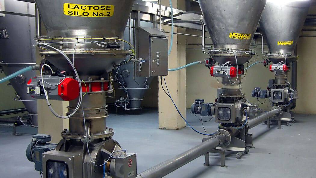 Upgrade Dilute Phase Production Lines For Lactose And Whey Protein