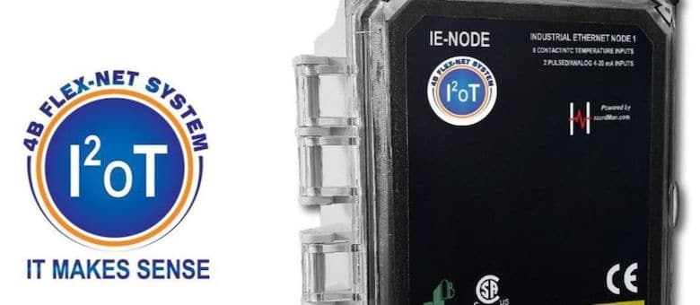 4B IE-Node – Provides Sensor Data to PLC's and Automation Systems