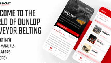 Extending a Helping Hand – Dunlop Conveyor Belting Launch new Conveyor Belt App