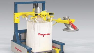 Low Profile Filler Accommodates Bulk Bags, Drums