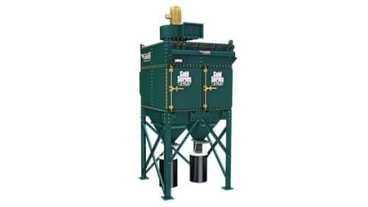 Industrial Dust Collector Reduces Dust Dangers in Grain, Seed and Feed Processing