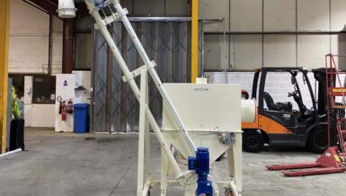 Spiroflow's Mobile Sack Tip and AMC Combo Provides Flexible Versatile Solution for Manual Sack Emptying Operations
