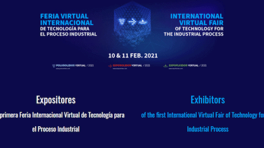 The International Virtual Fair of Technology for the Industrial Process is the main virtual fair in Europe