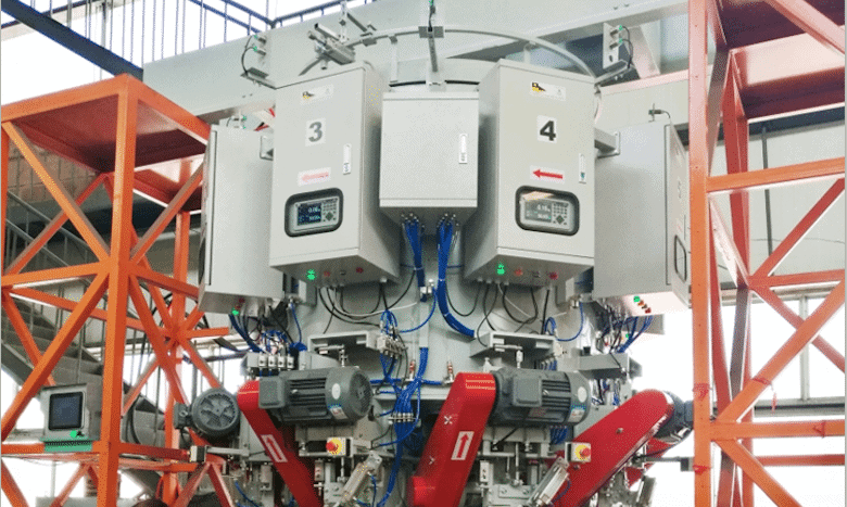 The Largest Cement Manufacturer in China with Weighing Controller M04