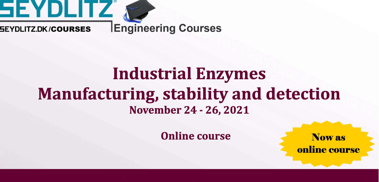 Industrial Enzymes Manufacturing, stability and detection