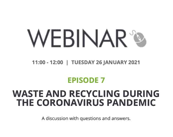 Waste And Recycling During The Coronavirus Pandemic