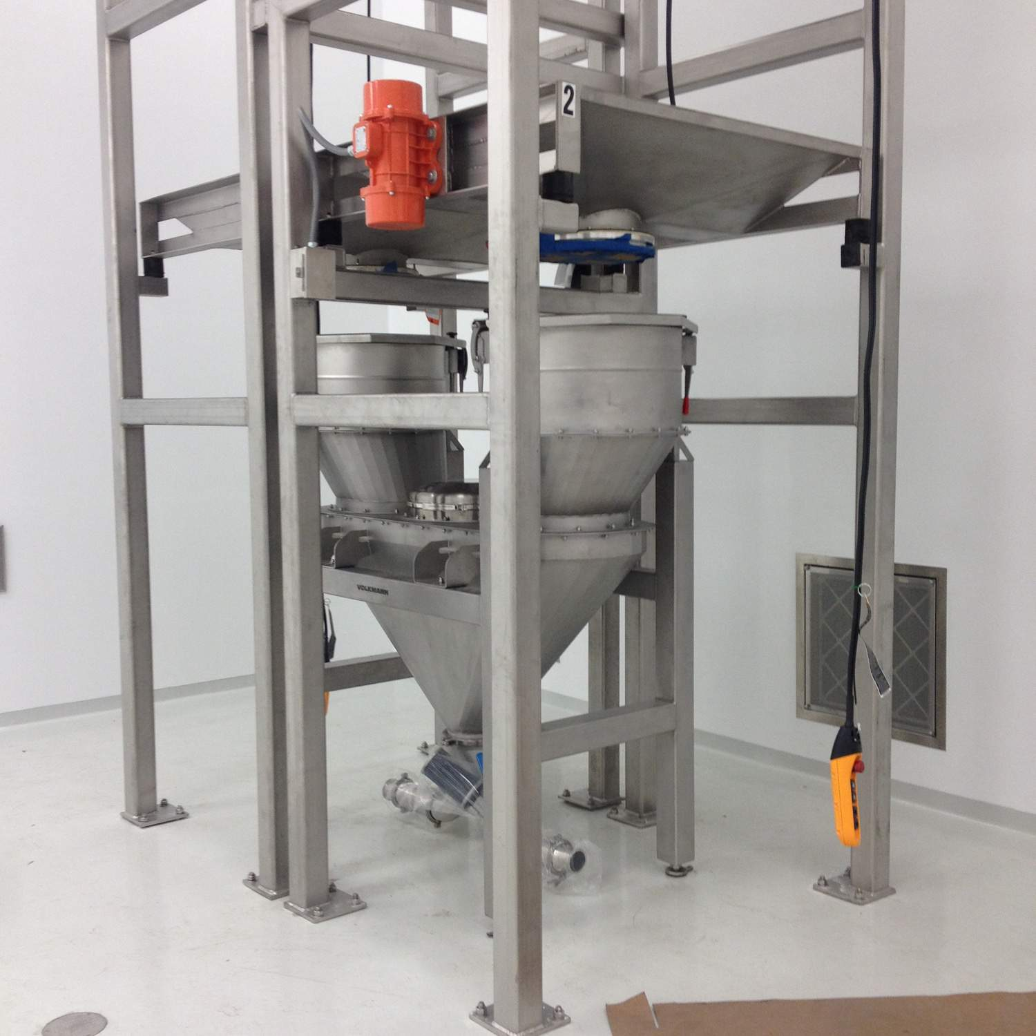 Volkmann Idea Saves Space, Reduces Stoppages for Bag Changing