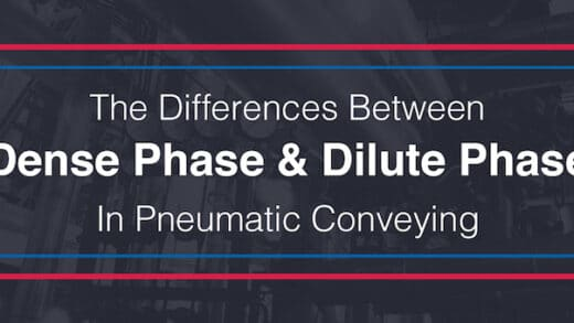 The Differences Between Dense Phase & Dilute Phase In Pneumatic Conveying
