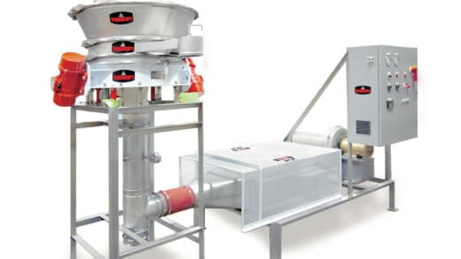 Circular Fluid Bed Dryer Reduces Cost, Size, Energy, Cleaning Time