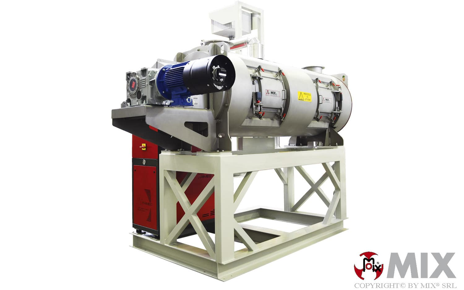 Continuous Dryer N-MXA2000-Every MIX Reactor & Dryer is Tailored and Custom Manufactured