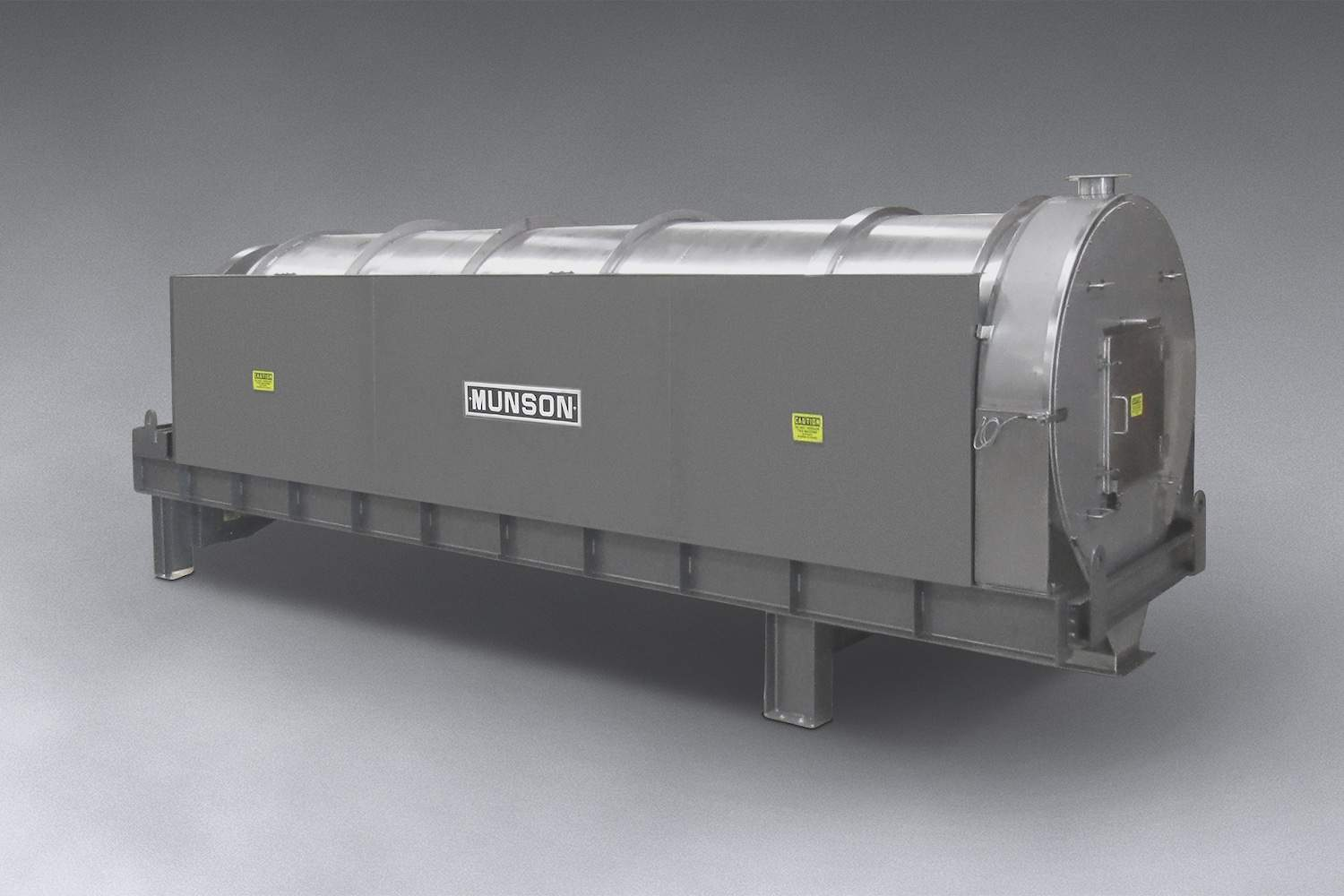 Rotary Continuous Mixer For Bulk Material In High Volumes