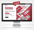 Lorenz has a new website