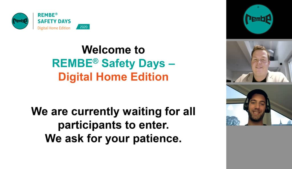 REMBE Safety Days Digital Home Edition – Online Training By Experts