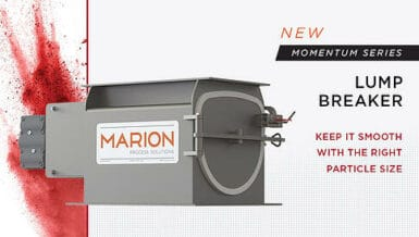 New Lump Breaker Product From Marion Process Solutions