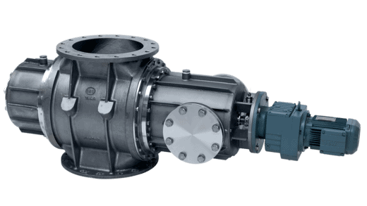 Safe Rotary Valve for Toxic Process Gases
