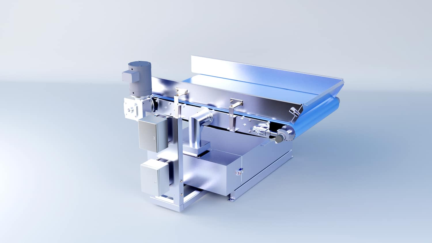Insertion Weigh Belt Module for Superior Accuracy in Tight Spaces