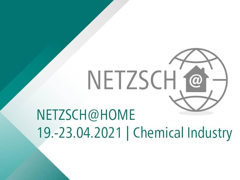 GET CONNECTED - NETZSCH@home Digital Event