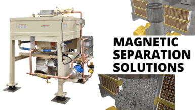 Magnetic Separation for Dry Powders with Eriez DVMF Magnet