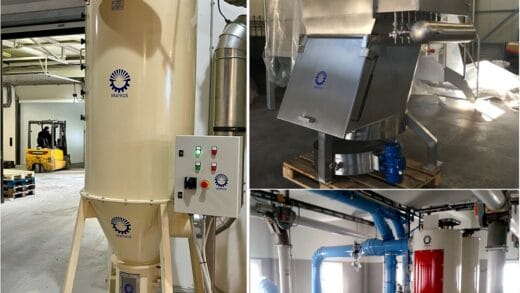 Dedusting and Aspiration in Dry Material Handling Processes