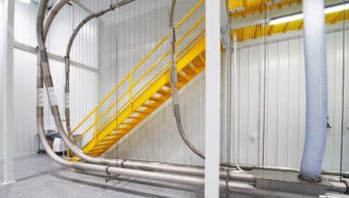 Food Processing: Selecting a Conveyor to Minimize Dust Explosion Risk